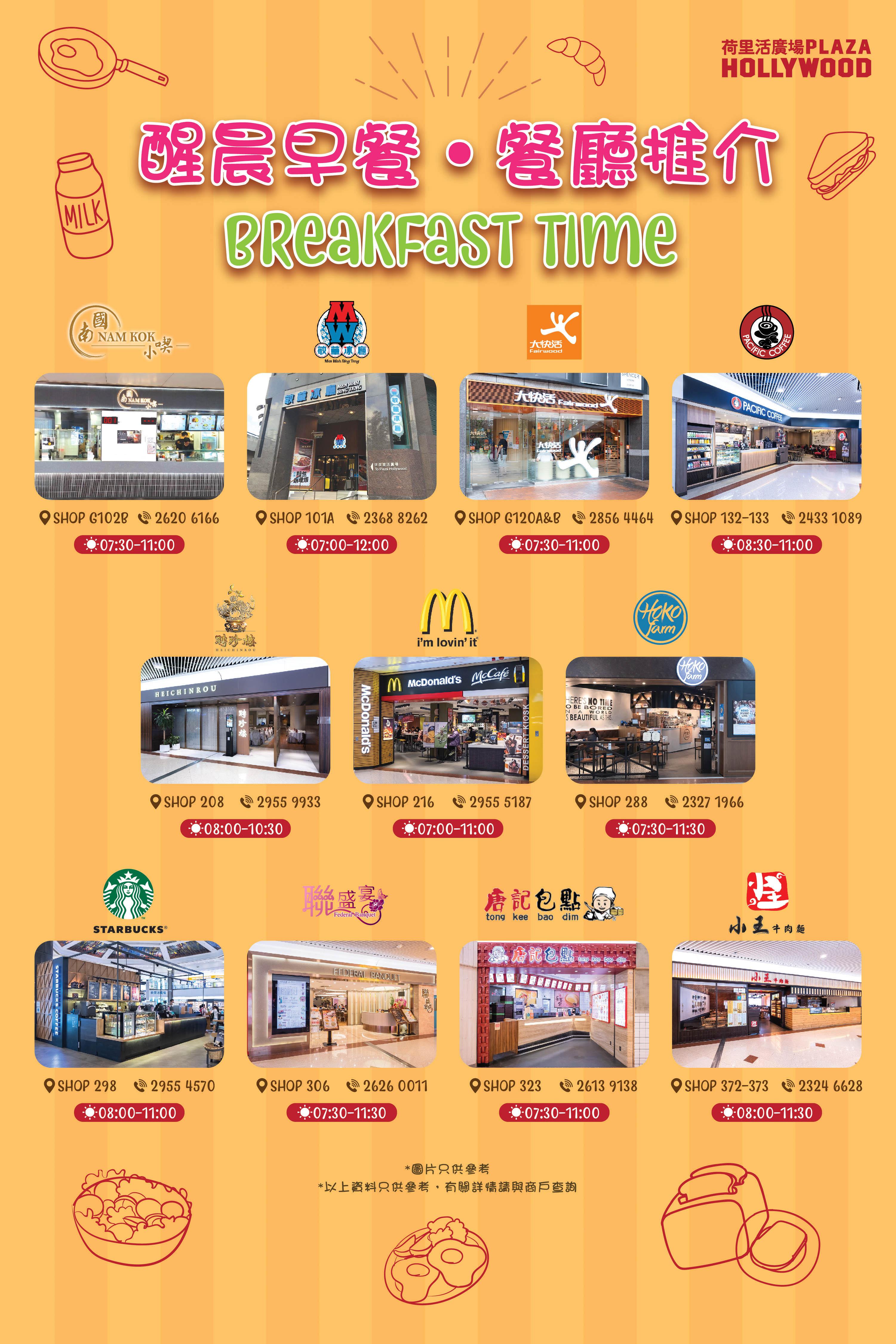 Breakfast Time Restaurants Guide