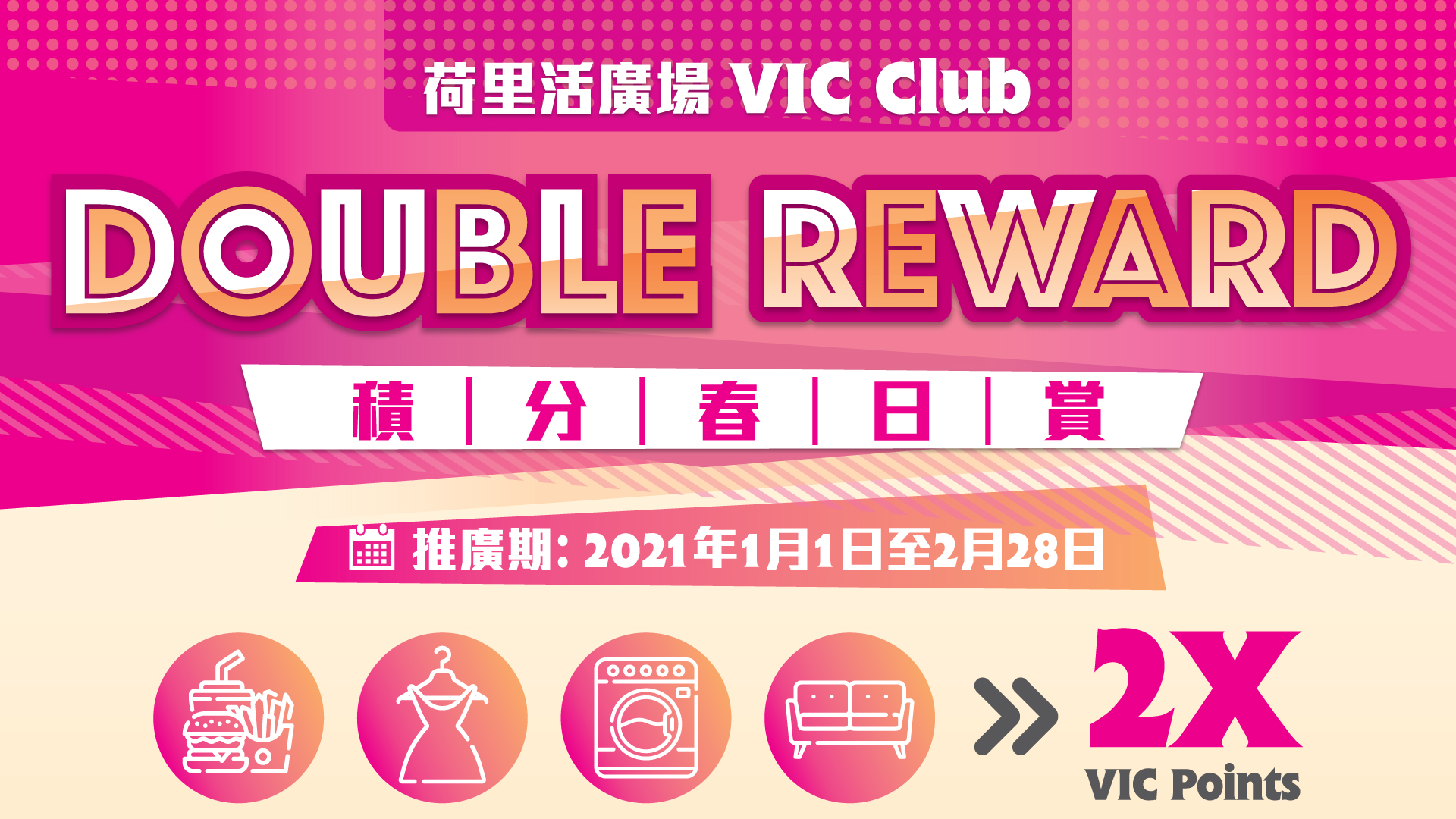 VIC Double Reward