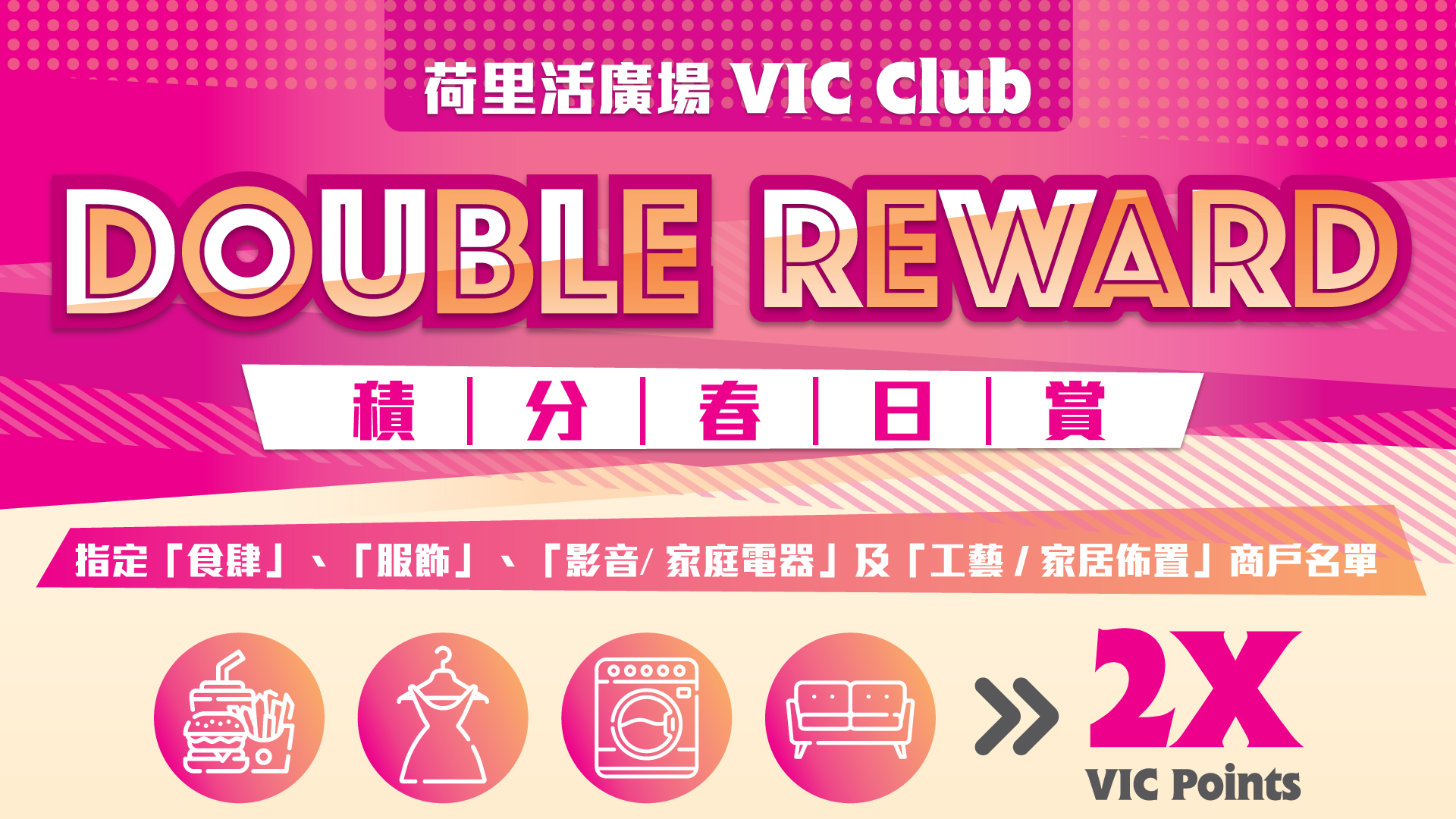 VIC Double Reward - Tenant List